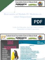 Modulo V medicina en Salud Ocupacional 2016.pptx