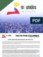 Pacto Por Colombia - Marta Lucía Ramírez