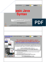 02 Basic Java Syntax