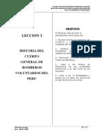 Leccion 3 - Historia Del CGBVP