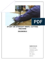 Straight Knife Cutting Machine