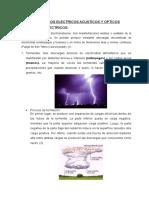 FENOMENOS ELECTRICOS