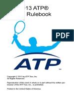 2013 ATP Rulebook 22Feb13 for Posting