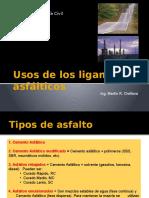 06_Usos de Los Ligantes Asfálticos