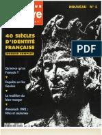01_40 Siecles d'Identite Française
