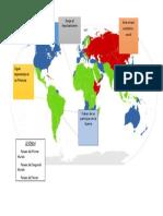 Mapamundi de Historia 3 Mundo
