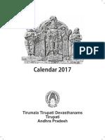 TTD Calendar 2017