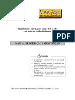 MANUAL DE MANUTENÇÃO E OPERAÇÃO EMPILHADEIRA JHC - Excelente.pdf