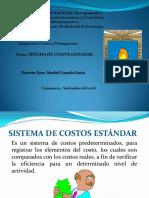 Sistema de Costo Estandar