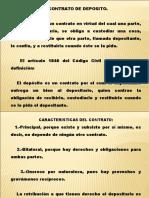 Contrato de Deposito