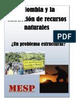 COLOMBIA Y LA EXTRACCIÓN DE RECURSOS NATURALES