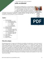 Historia de La Filosofía Occidental - Wikipedia, La Enciclopedia Libre