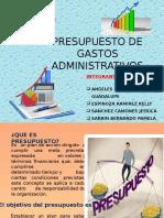 Presupuesto de Gastos Administrativos