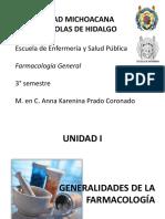 Farmacología General Enfermería