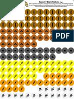 Agricola boardgame StickerSheet v2 Resources