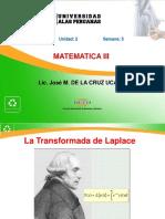 Semana5_Transformada de Laplace