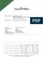 B 84567 SB PP0 DRT ST 60 0003_2_AOC_Existing Fuel Gas System Adequacy Check