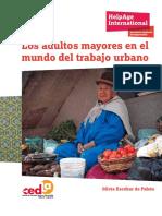 Los Adultos Mayores en El Mundo Del Trabajo Urbano