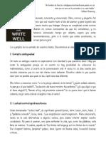consejos para escribir mejor