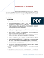 Funciones y Responsabilidades en El Área de Auditoría