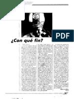"""¿Con qué fin? (Artículo de Rafael Gambra aparecido en """"Fuerza Nueva"""", 1997)"""