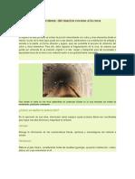 Extracción Subterránea Del Macizo Rocoso a La Roca Mineralizada