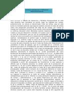 Para formular el estado de Ganancias y Pérdidas Presupuestado en este caso tenemos que considerar en primer lugar los ingresos por ventas.docx