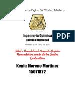 Investigación Nomenclatura Común de Los Ácidos Carboxílicos