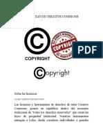 Licencias de Creative Commons