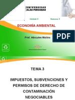 3 Impuestos, subvenciones y permisos de derecho de contaminación negociables.ppt