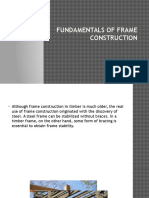 Fundamentals of Frame Construction
