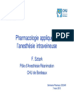 Pharmacologie appliquée