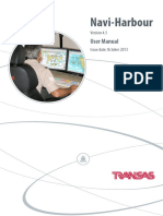 Manual de Operacion Del Navi Harbour 4.5 en Ingles