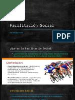 Facilitación Social en el Grupo
