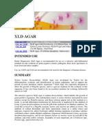 XLD AGAR mSDS