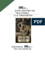 Pequena Historia de Inglaterra. G.K.Chesterton