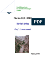 Cours Hydrologie GC BV