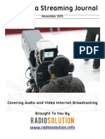 The Media Streaming Journal November 2015