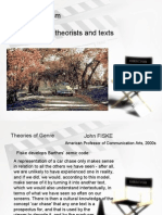 Postmodernism Theories and Texts