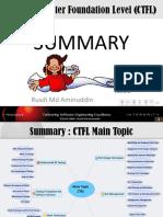 CTFL Summary