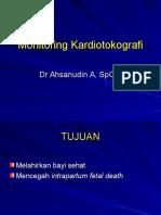 Monitoring Kardiotokografi