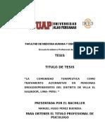 Facultad de Medicina Humana y Ciencias de La Salud ( Tesis de Titulo )