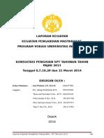 Laporan Kegiatan Pengmas 2014 (1)