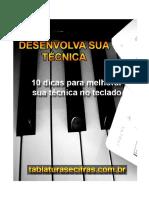 eBook 10 Dicas de Piano