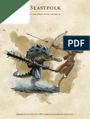 Beastfolk a Race for D&D 5e (9986465) | Fantasy | Leisure