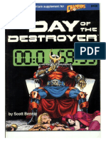 Hero System - Day of the Destroyer