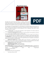 Flash Point Tester Model - Hamco- d -19