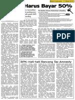 Bisnis Indonesia - Banding Harus Bayar 50%