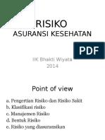 Risiko 13 Maret 2014