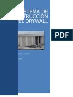 Sitema de Construcion Del Drywall